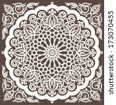 arabic vintage seamless... | Shutterstock .eps vector #173070455
