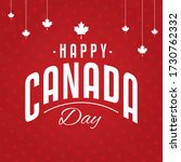 happy canada day 1st july with... | Shutterstock .eps vector #1730762332