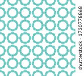 celtic knot seamless pattern... | Shutterstock .eps vector #1730778868