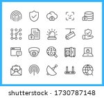collection of ui ux linear... | Shutterstock .eps vector #1730787148