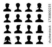 human avatar icons set... | Shutterstock .eps vector #1730800255