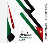 jordan independence day banner...   Shutterstock .eps vector #1730845342