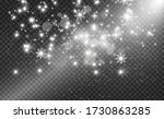 snowfall. a lot of snow on a... | Shutterstock .eps vector #1730863285