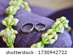 Groom And Bride\'s Wedding Ring...