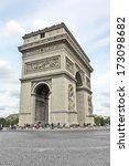 arc de triumph   architecture... | Shutterstock . vector #173098682