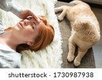 health and pain. stressed... | Shutterstock . vector #1730987938