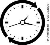 clock  icon vector design ...