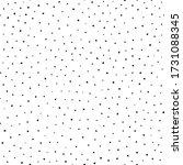 polka dot. background scatter... | Shutterstock .eps vector #1731088345