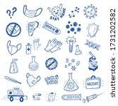 coronavirus covid 19 protection ... | Shutterstock .eps vector #1731202582