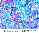 violet and purple sparkles.... | Shutterstock .eps vector #1731223102