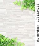 white wood grain texture... | Shutterstock . vector #1731234298