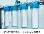 industrial production with...   Shutterstock . vector #1731295855