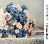 wedding bouquet | Shutterstock . vector #173130278