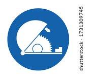 symbol use adjustable saw guard ... | Shutterstock .eps vector #1731309745