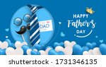 happy father's day banner... | Shutterstock .eps vector #1731346135