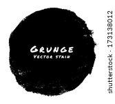 hand drawn grunge background.... | Shutterstock .eps vector #173138012