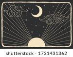 image vintage vintage engraving ... | Shutterstock .eps vector #1731431362