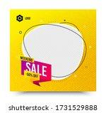weekend sale 50  off badge....   Shutterstock .eps vector #1731529888