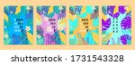 summer tropical covers... | Shutterstock .eps vector #1731543328