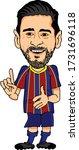 barcelona  spain   may 07  2020 ... | Shutterstock .eps vector #1731696118