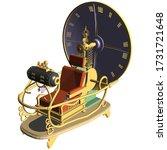 time machine vector 07.... | Shutterstock .eps vector #1731721648