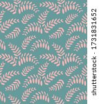 pattern with beautiful pink...   Shutterstock .eps vector #1731831652