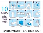 personal hygiene  disease...   Shutterstock .eps vector #1731836422