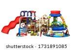 goods for kids childrens...   Shutterstock . vector #1731891085