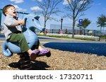 a seahorse bucks a riding... | Shutterstock . vector #17320711