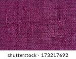 Closeup Detail Of Purple Fabri...