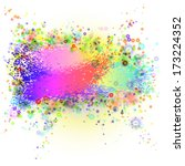 abstract colorful background....   Shutterstock .eps vector #173224352