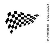 race flag icon vector... | Shutterstock .eps vector #1732326325