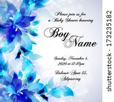 wedding invitation | Shutterstock .eps vector #173235182