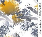 worn texture splatter surface.... | Shutterstock .eps vector #1732436135