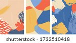 abstract art background with... | Shutterstock .eps vector #1732510418