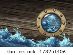 Sinking Ship Crisis Concept...