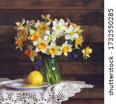 Bouquet Of Yellow And White...
