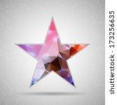 abstract creative concept... | Shutterstock .eps vector #173256635