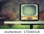 vintage soviet tv from 1959.... | Shutterstock . vector #173260118