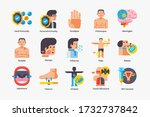 human diseases icons collection....