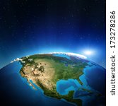 North America From Space....