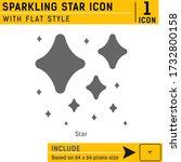 sparkling star premium icon...