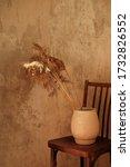 Ceramic White Vase With A...