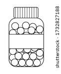 Outline Style Plastic Bottle...