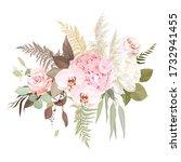 luxurious beige trendy vector... | Shutterstock .eps vector #1732941455