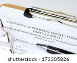 personal injury claim on... | Shutterstock . vector #173305826