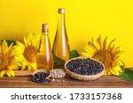 rural still life   sunflower... | Shutterstock . vector #1733157368