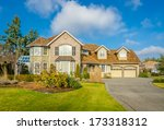 luxury house in vancouver ... | Shutterstock . vector #173318312