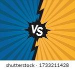 versus  opponent  opposition... | Shutterstock .eps vector #1733211428