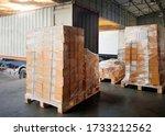 Interior Of Warehouse Dock ...